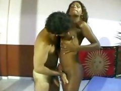 Young ethnic TS fucked by man