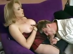 Sex with glamour mature tranny