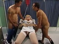 Orgy with shemale nurse