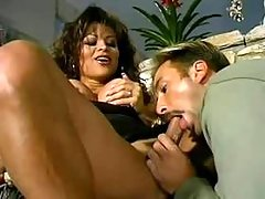 Lewd dude sucking dick of hot tgirl